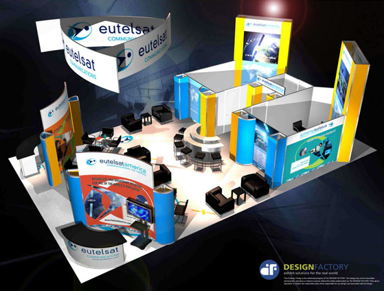 Trade Show Booth Number : Two story exhibit booths trade show exhibits