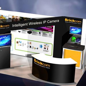 Brinkcom tradeshow exhibit