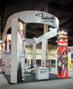 Bravado Tradeshow Exhibit