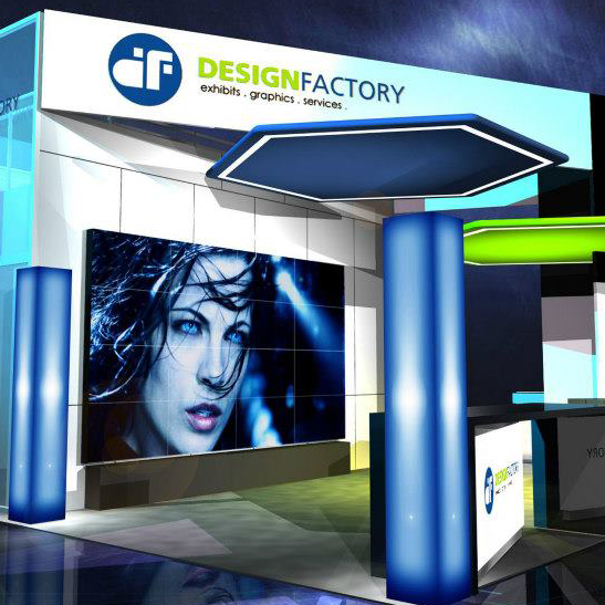 Exhibition Booth Budget : Trade show booth rental for exhibits that meet your budget