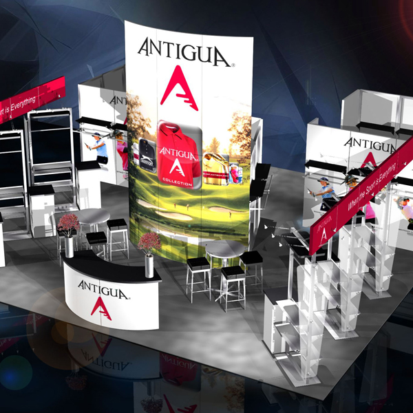 Antigua Trade Show Exhibit Design