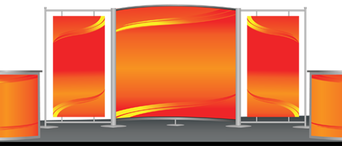 Trade Show Booth Banners : Trade show exhibits marketing products and services