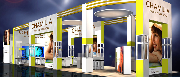Chamilia Trade Show Exhibit