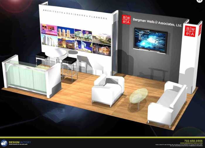 Small Exhibition Stand Sizes : Design factory trade show exhibits gallery