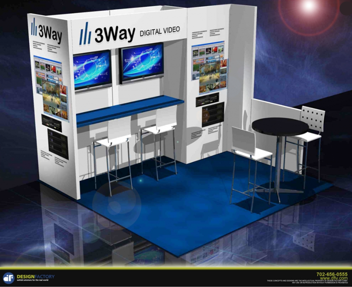 Exhibitor Booth Setup : Exhibit booth setup and display tips advice