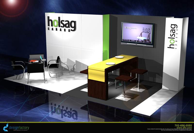 Trade Show Exhibit Builder for Holsag