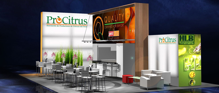 Procitrus Trade Show Exhibits