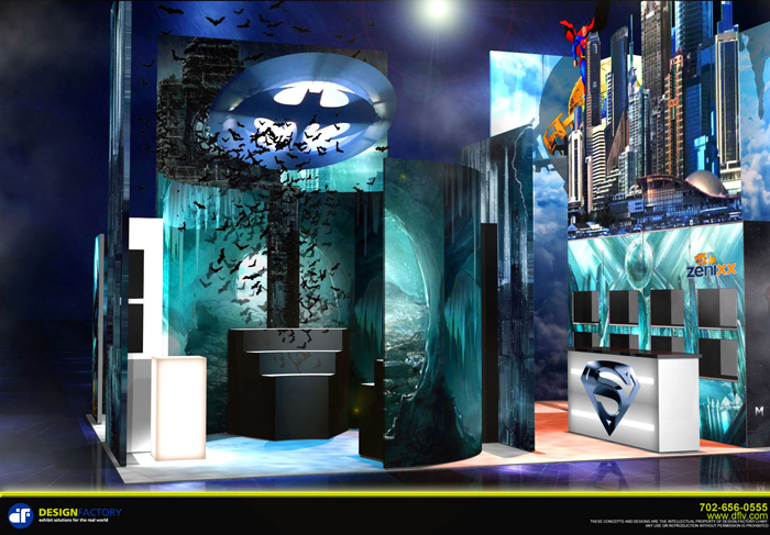 Unique Trade Show Booths