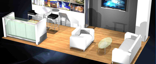 Furniture Exhibition Booth Design : Exhibit booth trade show exhibits