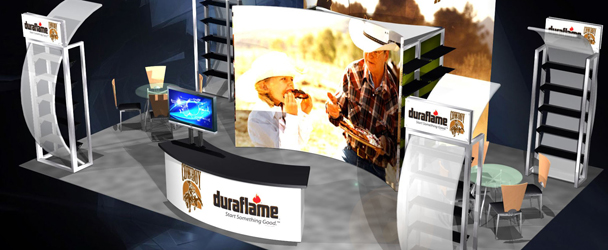 Trade Show Exhibits Duraflame