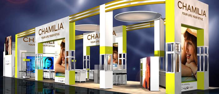 Chamilia Trade Show Exhibit