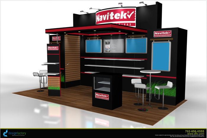 Cool trade show booths