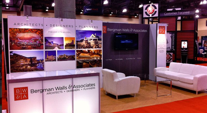 How to set up a trade show booth